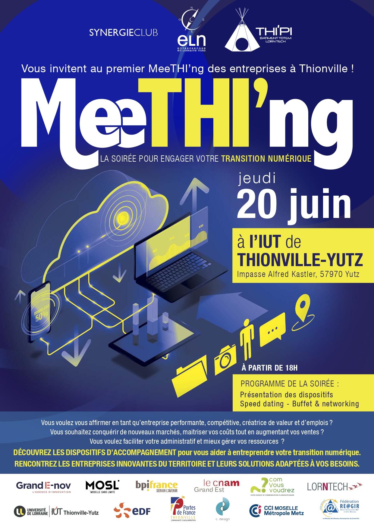 evenement meething 20 juin 2019