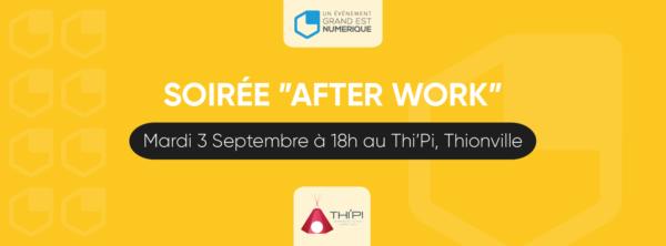 soirée d'after work 3 sept 2019