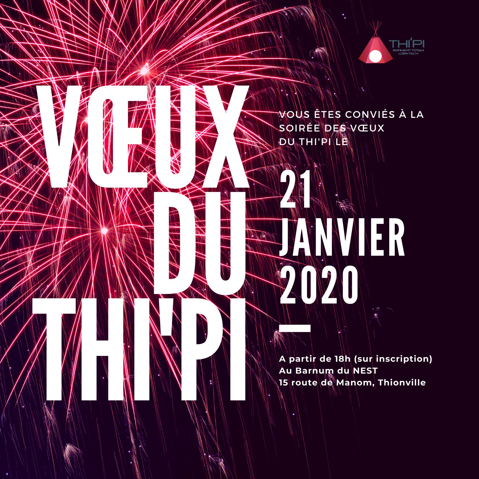 Thi'Pi présnete ses voeux pour 2020