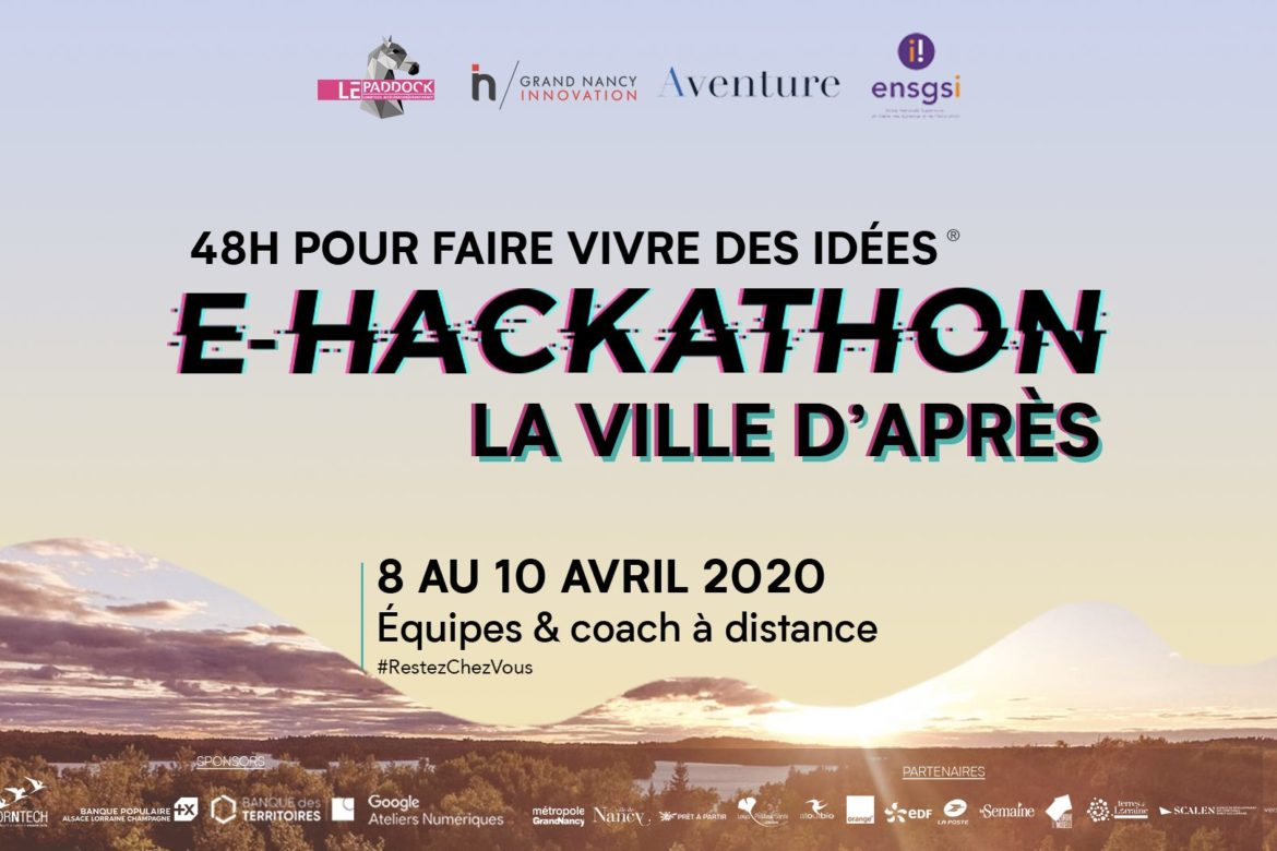 E-Hackathon Paddock et Grand Nancy Innovation