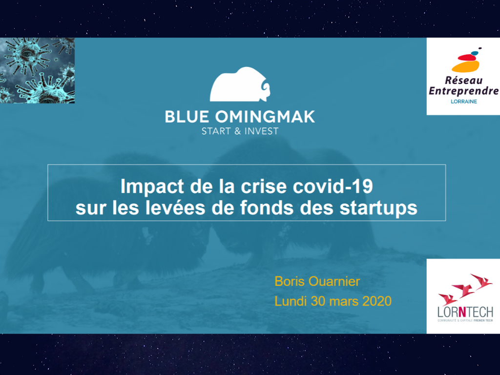 Impact de la crise Covid-19 sur les levées de fonds des startups