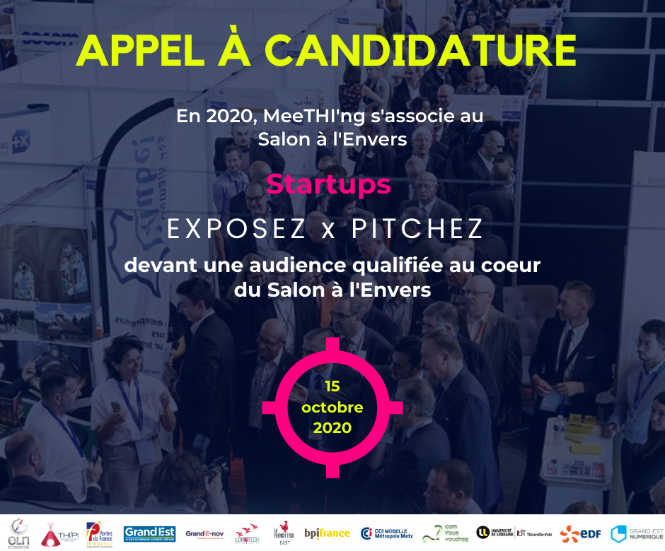 Appel à candidature MeeTHI'ng x Salon à l'Envers 2020