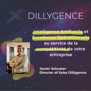 MeeTHI'ng 2020, participant ; Dillygence, Xavier Schuster : Intelligence Artificielle et Excellence Opérationnelle au service de la compétitivité de votre entreprise