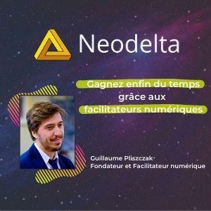 MeeTHI'ng 2020, participant : neodelta, Guillaume Pliszczak : gagnez enfin du temps grâce aux facilitateurs numériques