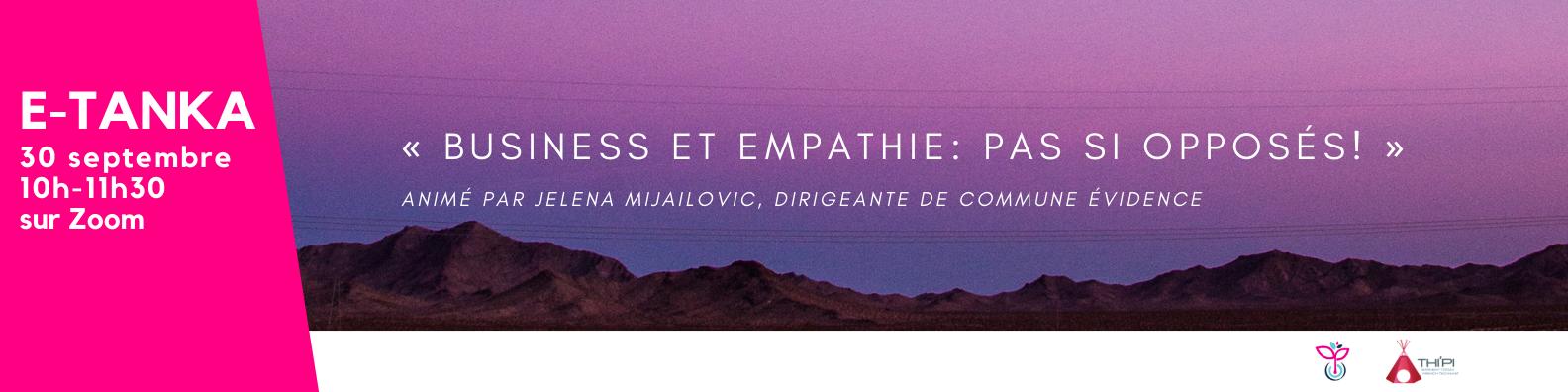 Webinaire empathie dans l'entreprise